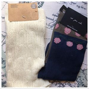 Urban Outfitters Over the Knee Socks (2 pairs)